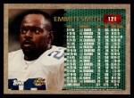 1996 Topps #121   -  Emmitt Smith 1000 Yard Club Back Thumbnail