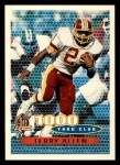 1996 Topps #125   -  Terry Allen 1000 Yard Club Front Thumbnail