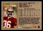 1996 Topps #33  Merton Hanks  Back Thumbnail