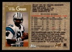 1996 Topps #19  Willie Green  Back Thumbnail