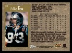 1996 Topps #108  Mike Fox  Back Thumbnail