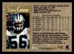 1996 Topps #171  Darion Conner  Back Thumbnail