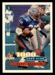 1996 Topps #123   -  Curtis Martin 1000 Yard Club Front Thumbnail