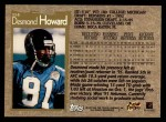 1996 Topps #114  Desmond Howard  Back Thumbnail
