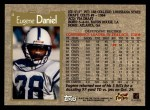 1996 Topps #4  Eugene Daniel  Back Thumbnail