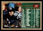 1996 Topps #262  Mark Carrier  Back Thumbnail
