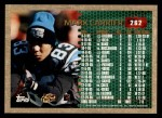1996 Topps #262  Mark Carrier  Back Thumbnail