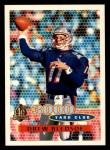 1996 Topps #381   -  Drew Bledsoe 3000 Yard Club Front Thumbnail