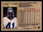 1996 Topps #274  Eugene Robinson  Back Thumbnail