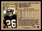 1996 Topps #364  Bo Orlando  Back Thumbnail