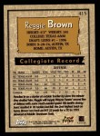 1996 Topps #415  Reggie Brown  Back Thumbnail