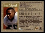 1996 Topps #343  Mike Caldwell  Back Thumbnail