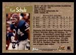 1996 Topps #233  Kurt Schulz  Back Thumbnail