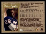 1996 Topps #305  Phillippi Sparks  Back Thumbnail