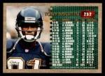 1996 Topps #252  Tony Martin  Back Thumbnail