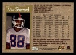 1996 Topps #338  Mike Sherrard  Back Thumbnail