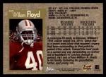 1996 Topps #309  William Floyd  Back Thumbnail