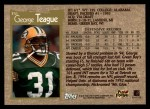 1996 Topps #351  George Teague  Back Thumbnail