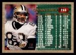 1996 Topps #255  Quinn Early  Back Thumbnail