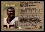 1996 Topps #308  Tom Carter  Back Thumbnail