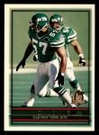 1996 Topps #345  Mo Lewis  Front Thumbnail