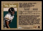 1996 Topps #396  Willie Jackson  Back Thumbnail