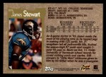 1996 Topps #315  James O.Stewart  Back Thumbnail