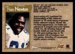 1996 Topps #266  Nate Newton  Back Thumbnail