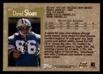 1996 Topps #387  David Sloan  Back Thumbnail
