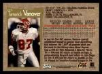 1996 Topps #235  Tamarick Vanover  Back Thumbnail