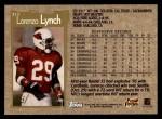 1996 Topps #313  Lorenzo Lynch  Back Thumbnail