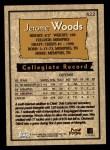 1996 Topps #422  Jerome Woods  Back Thumbnail