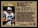 1996 Topps #228  Ken Dilger  Back Thumbnail