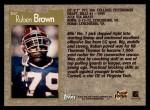 1996 Topps #307  Ruben Brown  Back Thumbnail