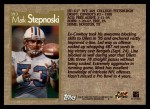 1996 Topps #393  Mark Stepnoski  Back Thumbnail