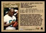 1996 Topps #389  Hugh Douglas  Back Thumbnail