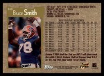 1996 Topps #340  Bruce Smith  Back Thumbnail