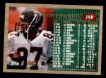 1996 Topps #258  Bert Emanuel  Back Thumbnail