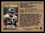 1996 Topps #325  Mike Mamula  Back Thumbnail