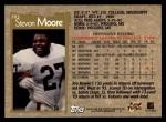 1996 Topps #283  Stevon Moore  Back Thumbnail