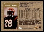 1996 Topps #334  Harold Green  Back Thumbnail