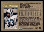 1996 Topps #277  Ashley Ambrose  Back Thumbnail