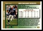 1997 Topps #35  Ben Coates  Back Thumbnail