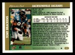 1997 Topps #121  Tony Brackens  Back Thumbnail