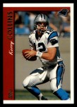 1997 Topps #80  Kerry Collins  Front Thumbnail