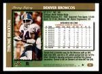 1997 Topps #51  Tyrone Braxton  Back Thumbnail