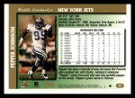 1997 Topps #52  Pepper Johnson  Back Thumbnail