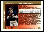 1997 Topps #96  Danny Kanell  Back Thumbnail