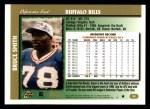 1997 Topps #55  Bruce Smith  Back Thumbnail