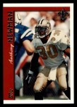 1997 Topps #217  Anthony Newman  Front Thumbnail